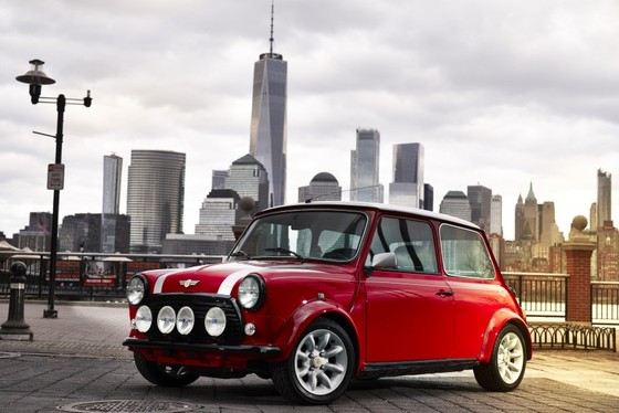 Classic Mini Electric - xe dien phong cach retro ra mat tai New York hinh anh 5
