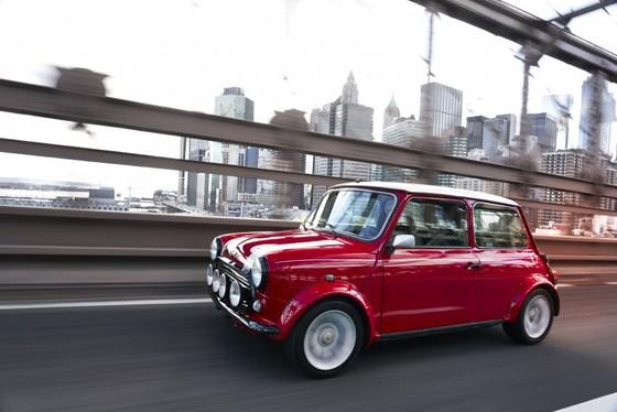 Classic Mini Electric - xe dien phong cach retro ra mat tai New York hinh anh 4