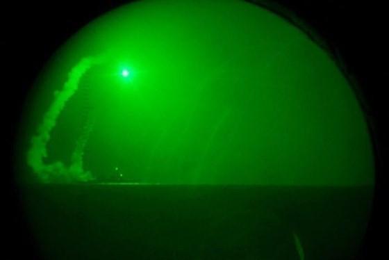 Nổ lớn tại Syria sau khi Tổng thống Mỹ ra lệnh tấn công ảnh 1