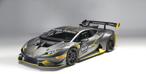 Lamborghini Huracan Super Trofeo Evo ra mắt tại đường đua Sepang - Ảnh 1.