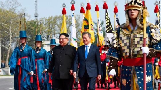 Lãnh đạo liên Triều kết thúc vòng đàm phán đầu tiên ảnh 3