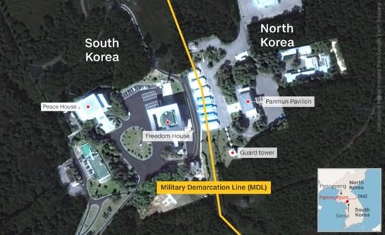 Lãnh đạo liên Triều kết thúc vòng đàm phán đầu tiên ảnh 10