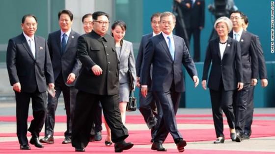 Lãnh đạo liên Triều kết thúc vòng đàm phán đầu tiên ảnh 1