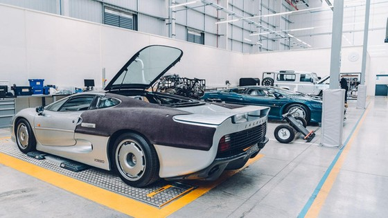 Đây là kho tàng xe cổ bí mật của Jaguar Land Rover - Ảnh 18.