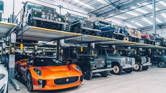 Đây là kho tàng xe cổ bí mật của Jaguar Land Rover - Ảnh 27.