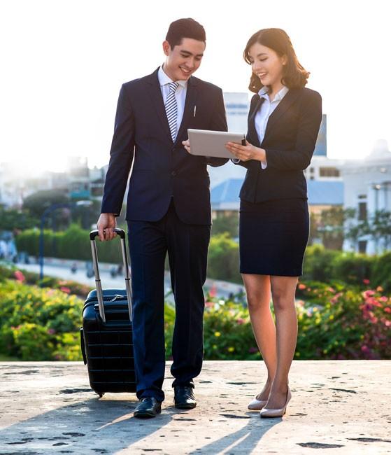 Doanh nghiệp hưởng lợi  từ dịch vụ ngân hàng hiện đại ảnh 1