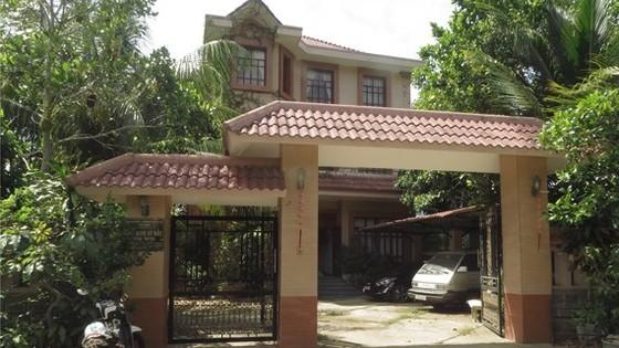Khu nhà nghỉ Sở Rẫy của nguyên Trưởng phòng TN-MT huyện Côn Đảo Võ Thái Hòa