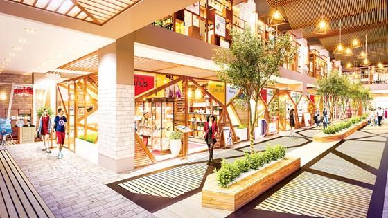 Khám phá trung tâm thương mại chuẩn Nhật ảnh 2