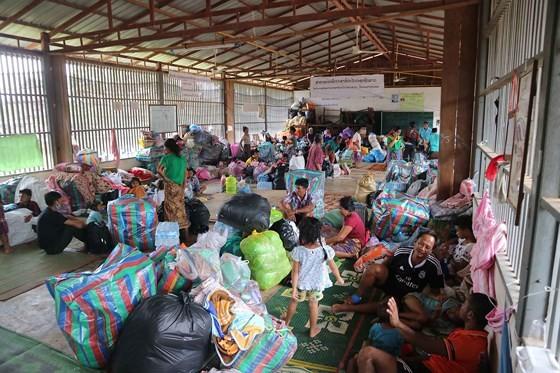 Bản làng xơ xác sau vụ vỡ đập thủy điện ở Lào ảnh 17