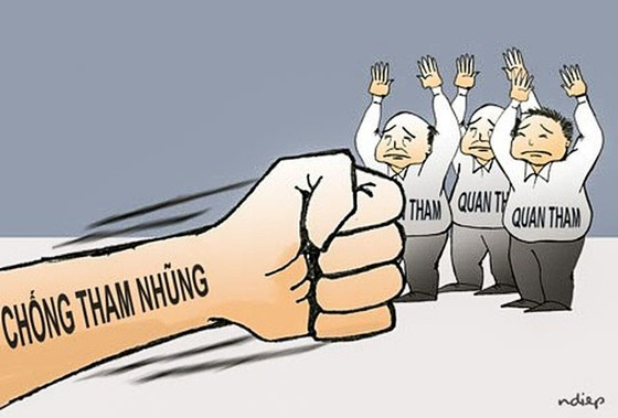 Gian nan chống tham nhũng, dù có luật ảnh 1