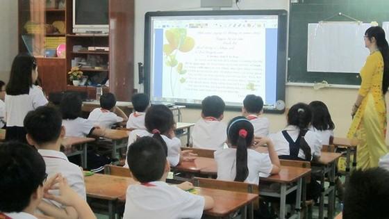 Một tiết dạy học của cô Đỗ Ngọc Quỳnh Trâm tại Trường Tiểu học Trung Nhất, quận Phú Nhuận