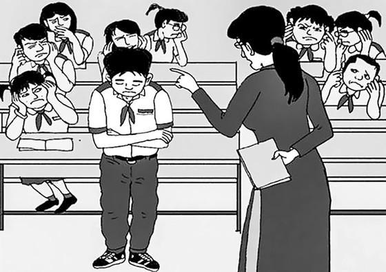 Những cái tát phản giáo dục, Trường Tiểu học Quang Trung, Trường THCS Duy Ninh ảnh 1