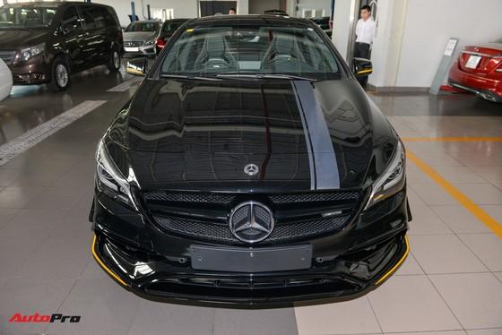 Mercedes-Benz CLA45 AMG Yellow Night Edition đầu tiên về Việt Nam, giá 2,578 tỷ đồng - Ảnh 6.