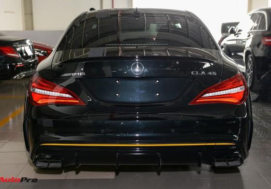 Mercedes-Benz CLA45 AMG Yellow Night Edition, giá 2,578 tỷ đồng ảnh 6