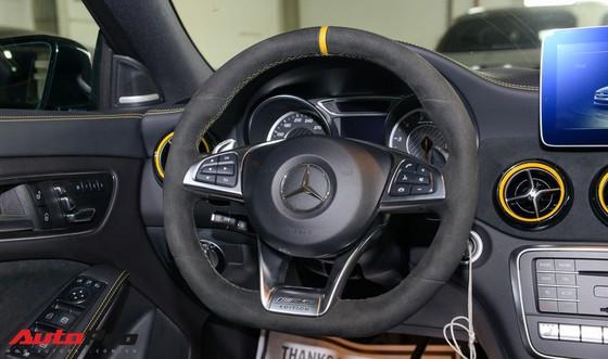 Mercedes-Benz CLA45 AMG Yellow Night Edition, giá 2,578 tỷ đồng ảnh 16