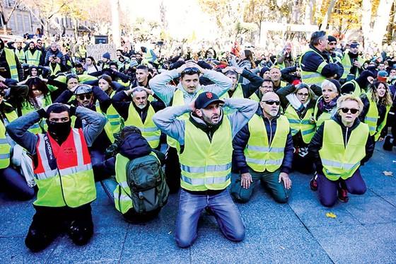 Pháp: Tác động tiêu cực từ Áo vàng ảnh 1
