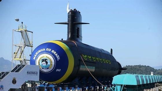 Tàu ngầm hạt nhân của Brazil. Ảnh: EPA