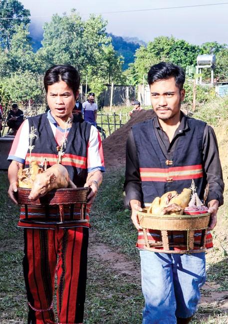 Lễ hội Aza Koonh của đồng bào Pa Cô ảnh 4