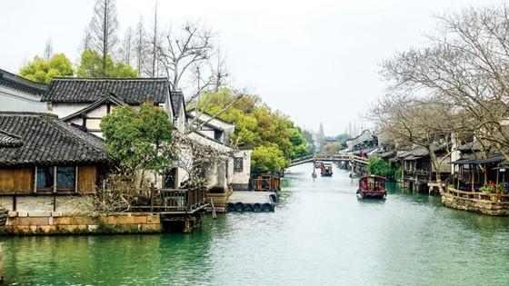 Thủy trấn thơ mộng ở Chiết Giang ảnh 1