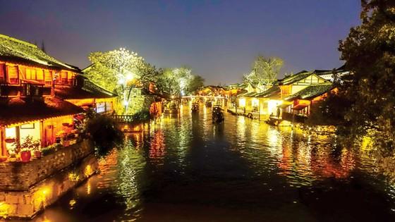 Thủy trấn thơ mộng ở Chiết Giang ảnh 5