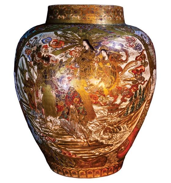 Lịch sử Hoàng gia Nhật Bản trên gốm sứ Satsuma ảnh 2