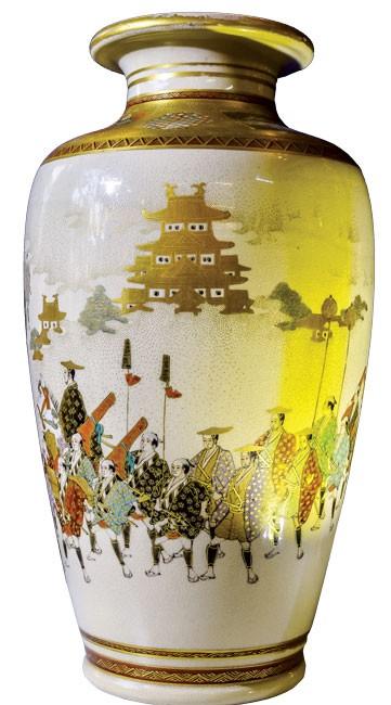 Lịch sử Hoàng gia Nhật Bản trên gốm sứ Satsuma ảnh 6