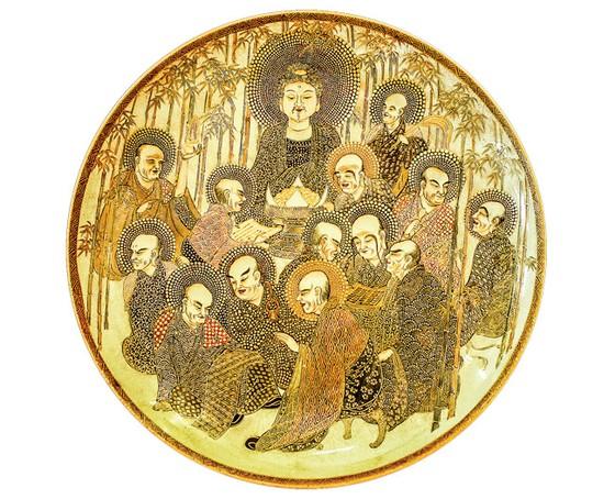 Ánh Đạo Vàng trên gốm cổ Nhật Bản ảnh 3