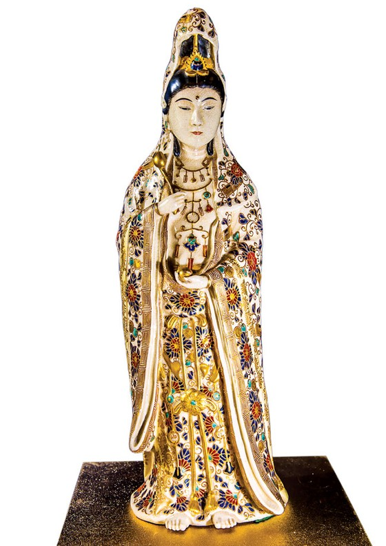 Ánh Đạo Vàng trên gốm cổ Nhật Bản ảnh 9
