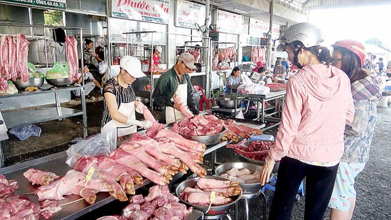 Siết an toàn thực phẩm chợ truyền thống ảnh 1