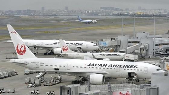 Máy bay của hãng hàng không Japan Airlines. Ảnh: Kyodo
