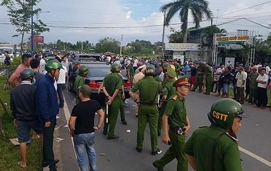 Bắt chủ doanh nghiệp trong vụ nhóm giang hồ chặn vây xe công an ở tỉnh Đồng Nai ảnh 2