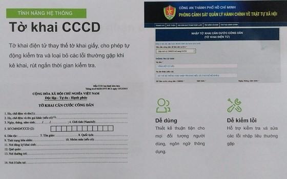 Từ hôm nay 3-7, đăng ký cấp thẻ căn cước công dân qua mạng ảnh 2
