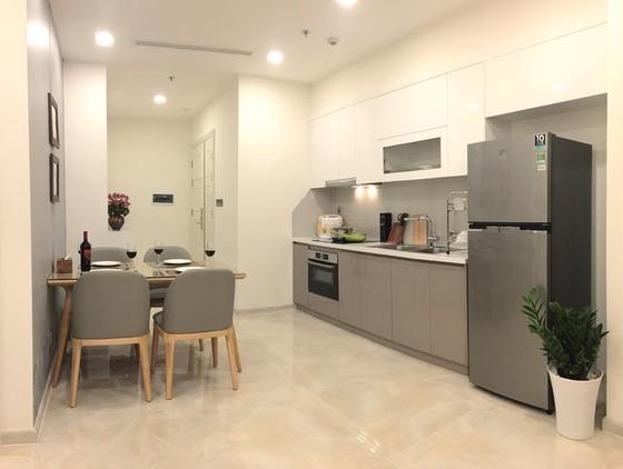 Không gian bếp tối giản ảnh 1
