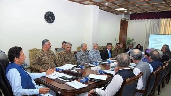 Quyết định trên được đưa ra sau một cuộc họp cấp cao do Thủ tướng Pakistan Imran Khan chủ trì. Ảnh: TTXVN
