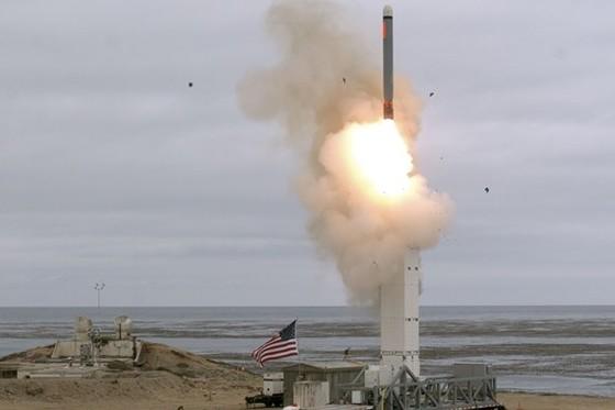 Vụ thử tên lửa của Mỹ tại California.