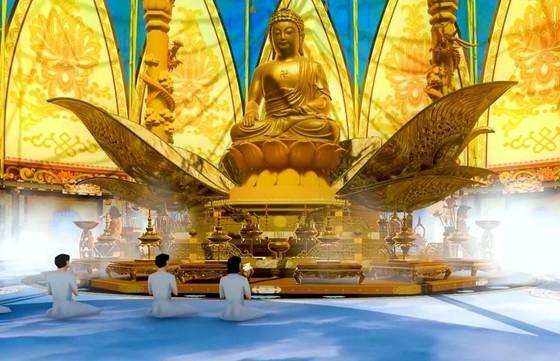 Xây tượng Phật tại Tân Huê Viên có phải xin phép? ảnh 1