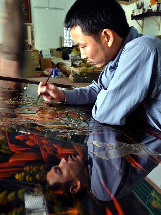 Chấn hưng nghệ thuật sơn mài truyền thống ảnh 1