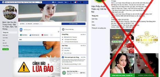 Thông tin giả mạo các cơ sở y tế nhan nhản trên các trang mạng xã hội