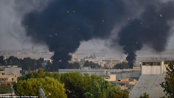 Thổ Nhĩ Kỳ tấn công người Kurd ở Syria ảnh 1