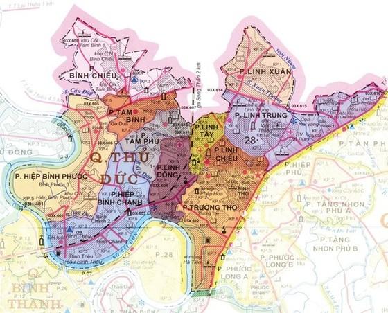 Duyệt đồ án quy hoạch phân khu Khu dân cư và Cụm công nghiệp tại Thủ Đức ảnh 1