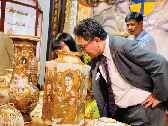 Thưởng trà  Việt, ngắm gốm Satsuma ảnh 1