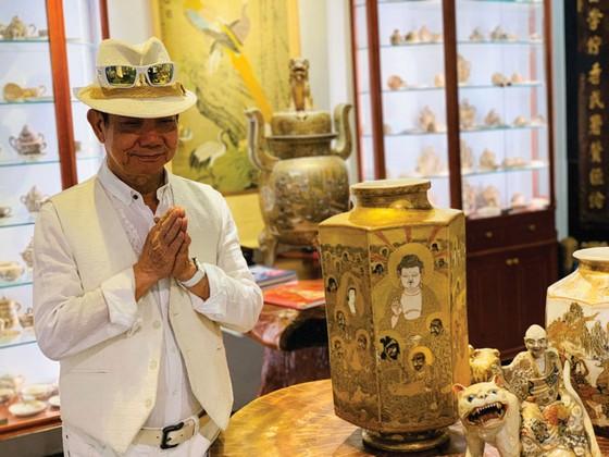 Thưởng trà  Việt, ngắm gốm Satsuma ảnh 4