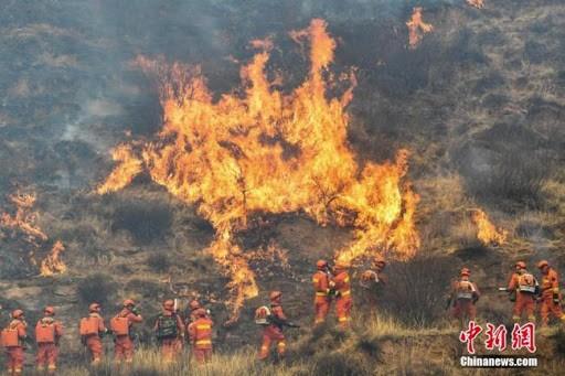 Trung Quốc: Cháy rừng, ít nhất 19 người chết ảnh 1
