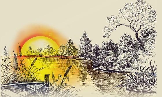 Dòng sông cuộn chảy ảnh 1