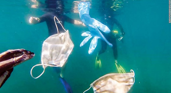 Đại dương ô nhiễm Covid-19 ảnh 1