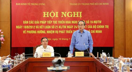 Ban Kinh tế Trung ương ủng hộ việc xem xét tăng tỷ lệ điều tiết ngân sách cho TPHCM ảnh 1