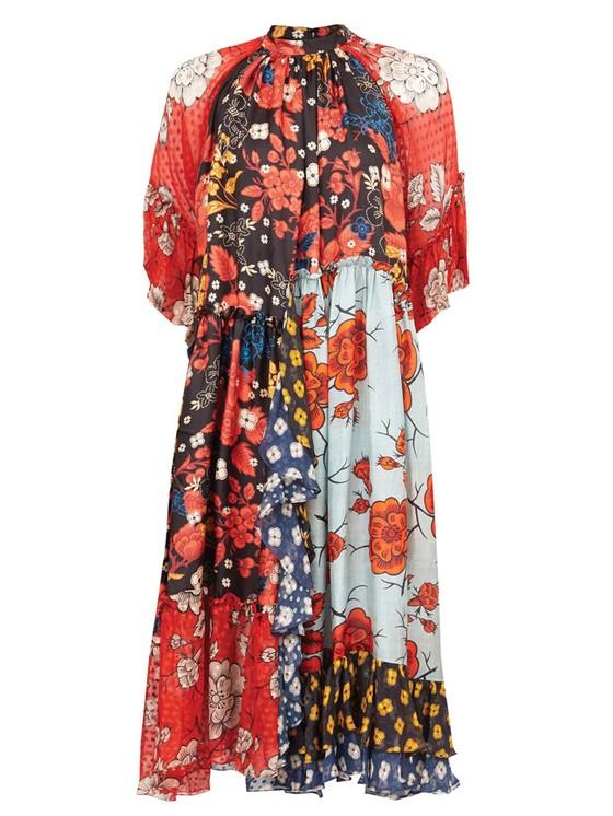 Váy hoa cao cấp mùa hè ảnh 6