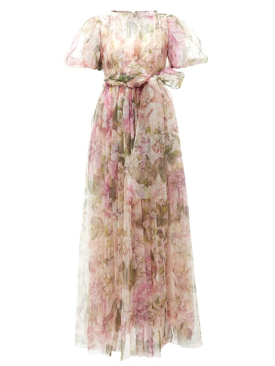 Váy hoa cao cấp mùa hè ảnh 2
