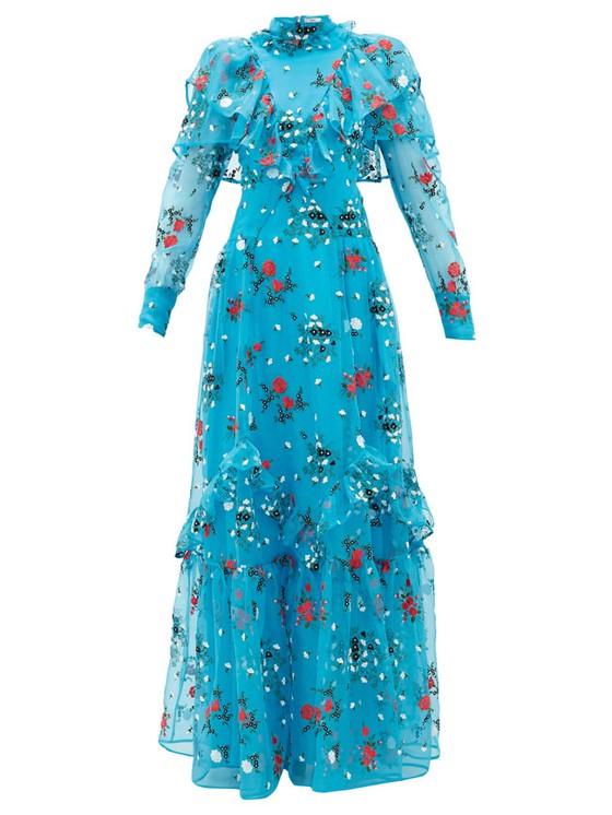 Váy hoa cao cấp mùa hè ảnh 1