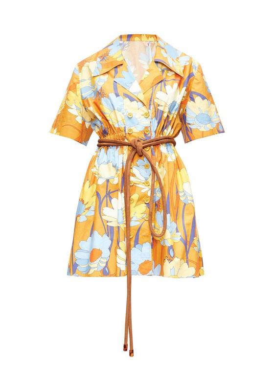 Váy hoa cao cấp mùa hè ảnh 4